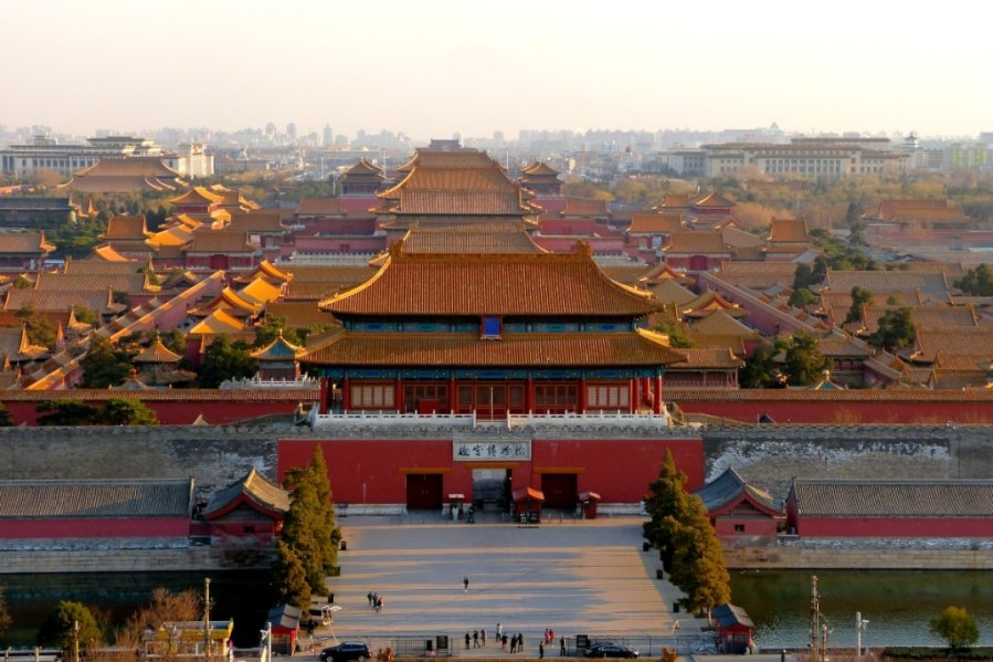 Beijing Weather  When to Go  Month by Month   Bespoke Travel Co Forbidden City Golden Rooftops