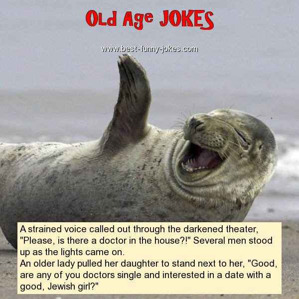 Old Age Birthday Jokes