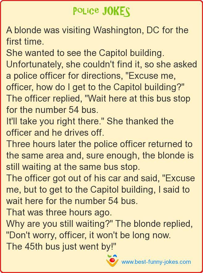Blonde Jokes Top 10