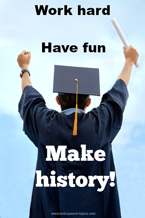 Quotes for Graduation Speeches