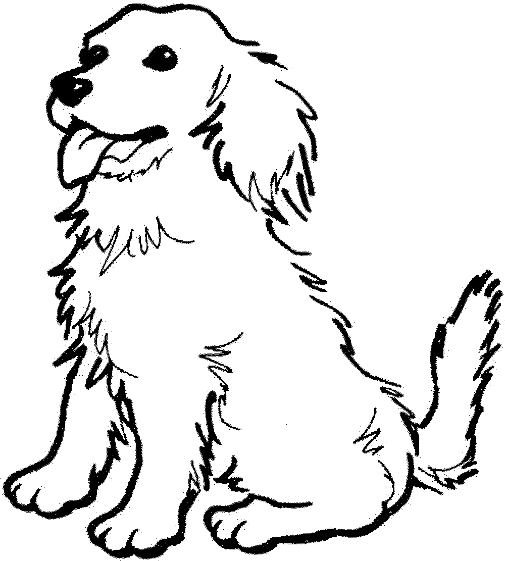 Free Dog Coloring Pages Bestappsforkids