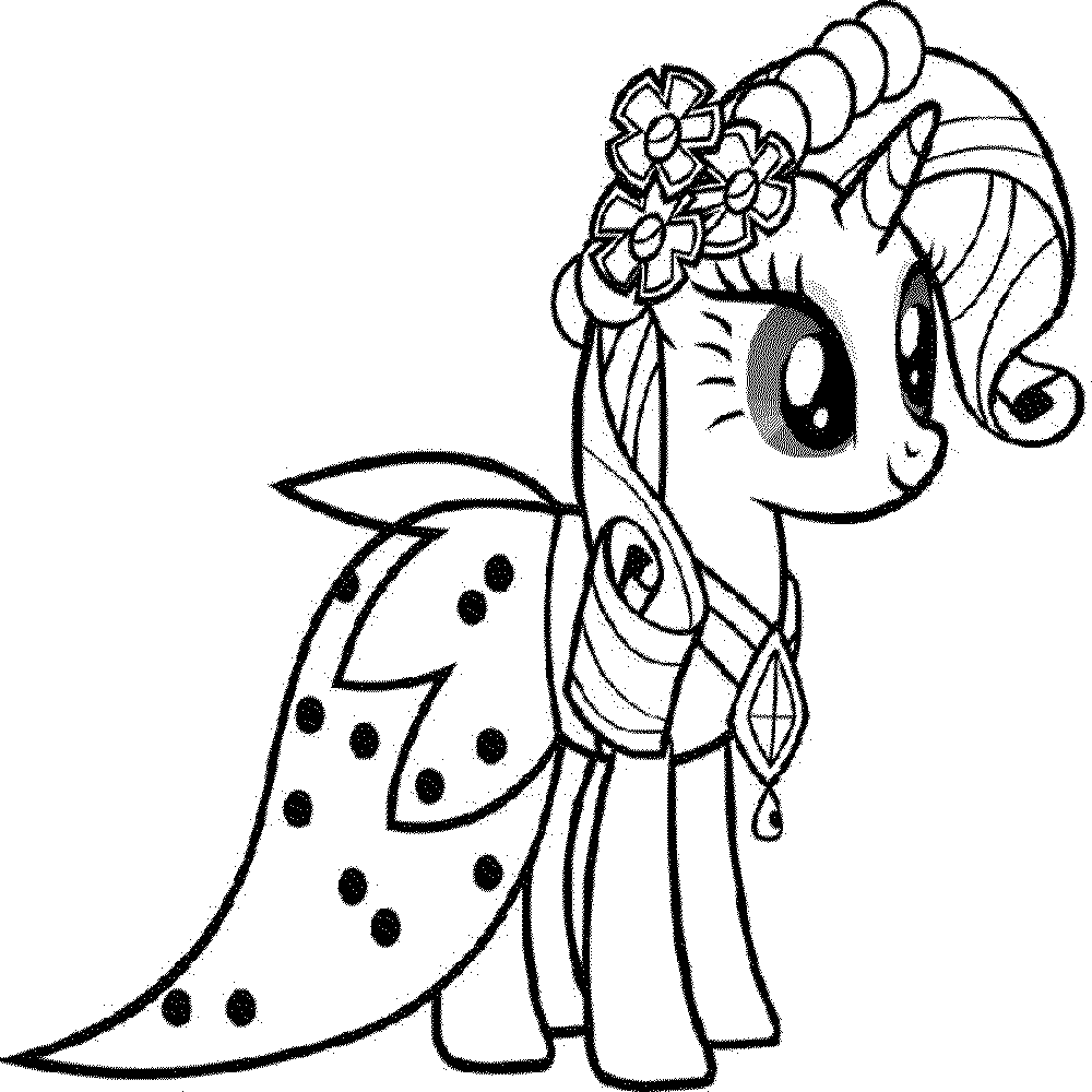 My Little Pony Fluttershy Coloring Pages Bestappsforkids