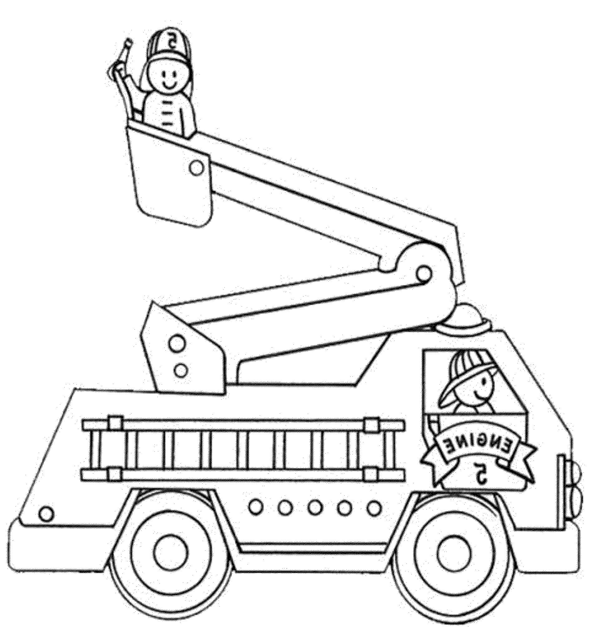 Coloring Pages Fire Trucks Online Bestappsforkids