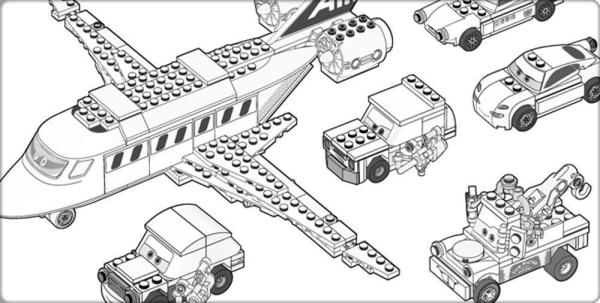 coloring pages lego # 64