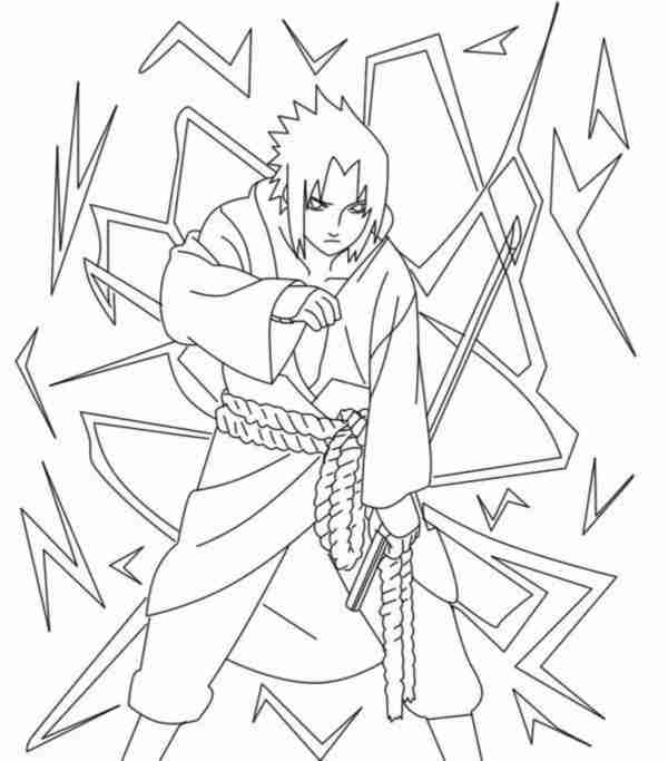 naruto shippuden coloring pages # 70