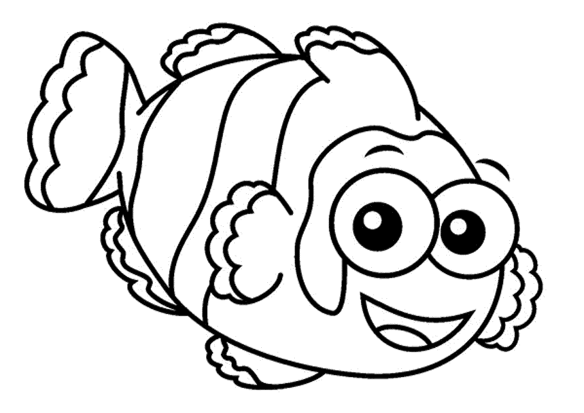 One Fish Two Fish Red Fish Blue Fish Coloring Pages