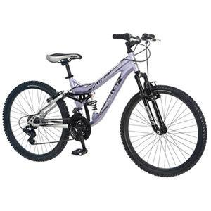 Mongoose Girl's Maxim Full Suspension Bicycle - best mountain bikes for women