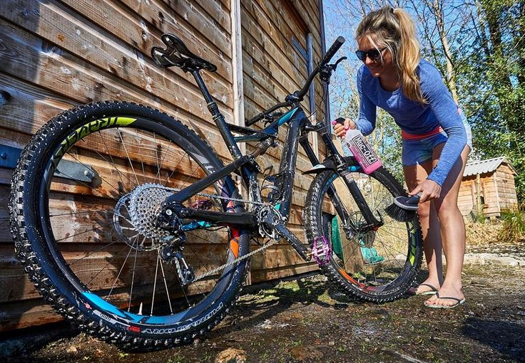 Mountain bike cleaning - how to clean a mountain bike