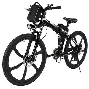 ANCHEER Folding Electric Mountain Bike with Lithium-Ion Battery (36V 250W) Review