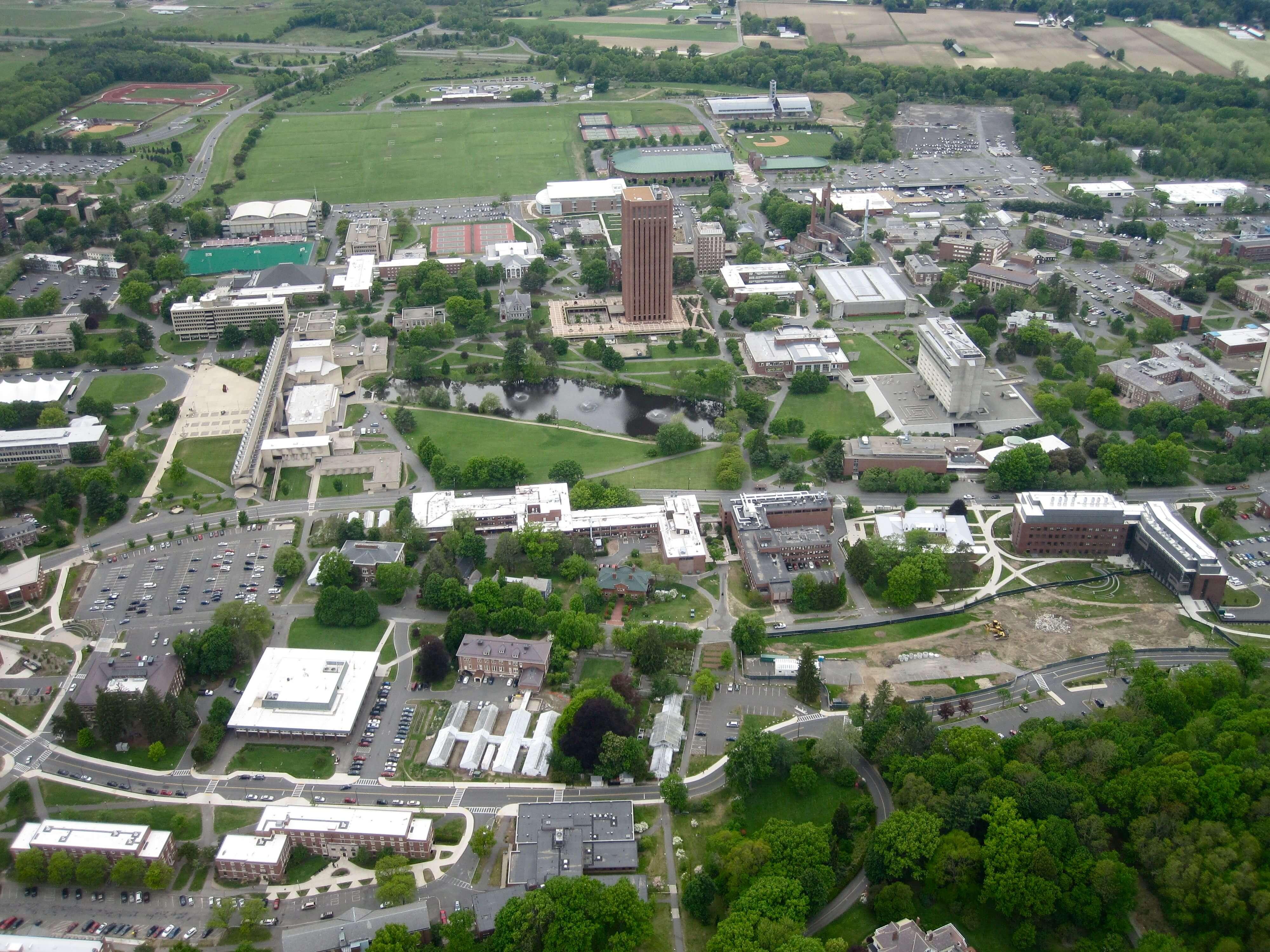 Umass Dartmouth Campus Map