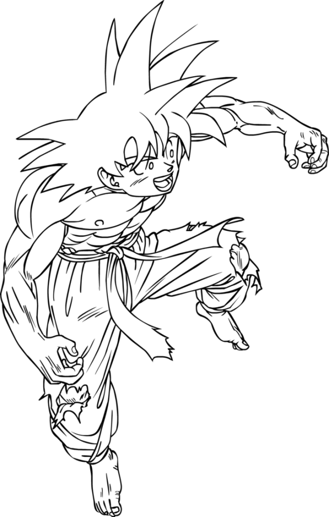 Dbgt Pan Coloring Pages