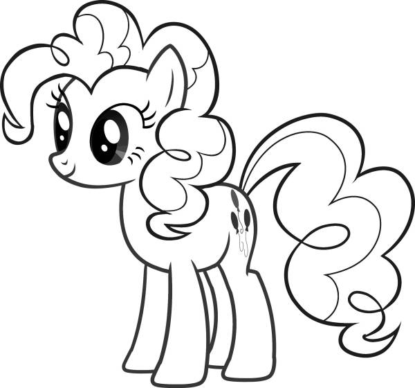 my little pony coloring pages free # 5