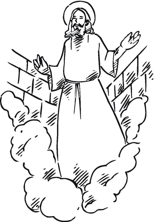 coloring pages jesus # 59