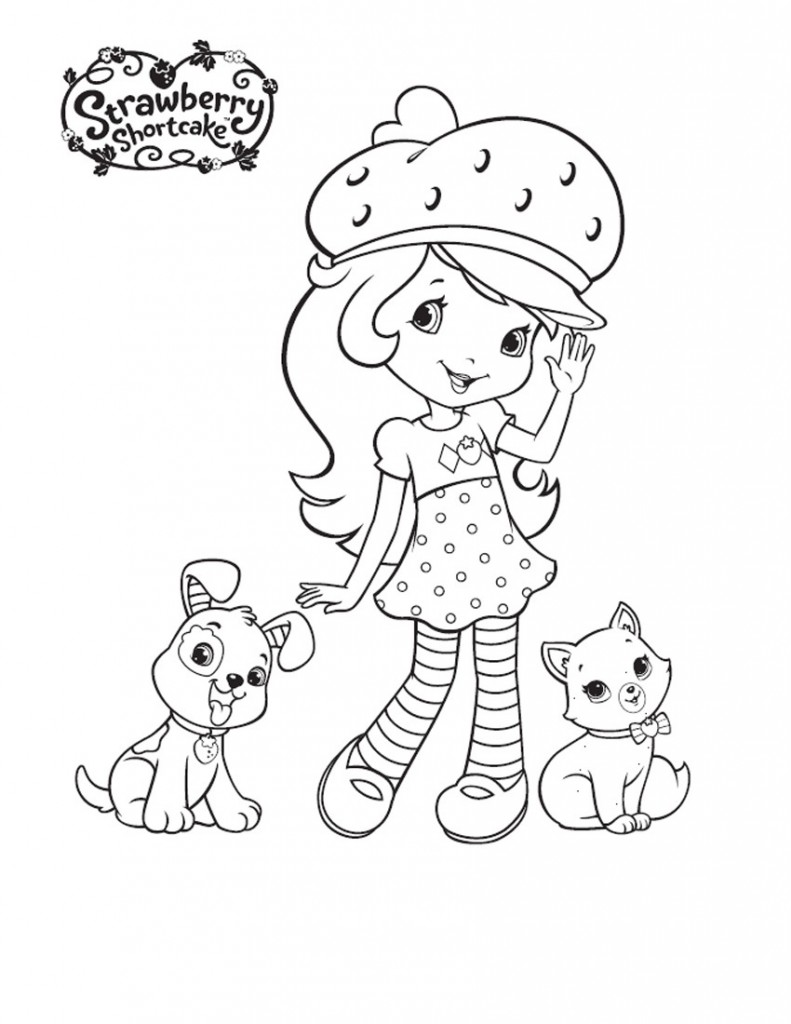 Characters Strawberry Shortcake