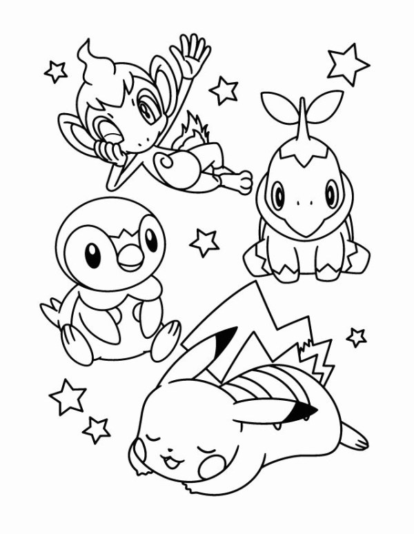 pokemon coloring pages # 15
