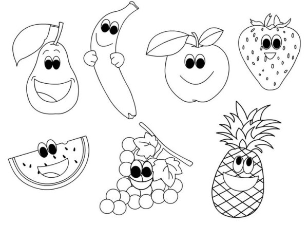 fruit coloring page # 9