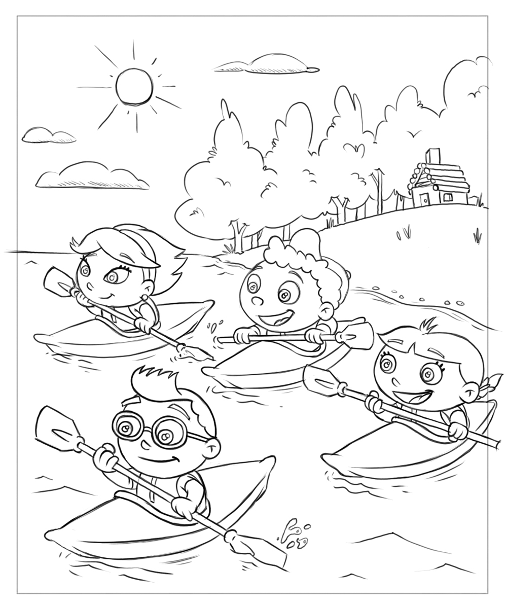 Drawings 3 Best Friends Easy