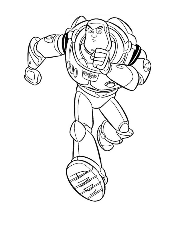 buzz lightyear coloring page # 10