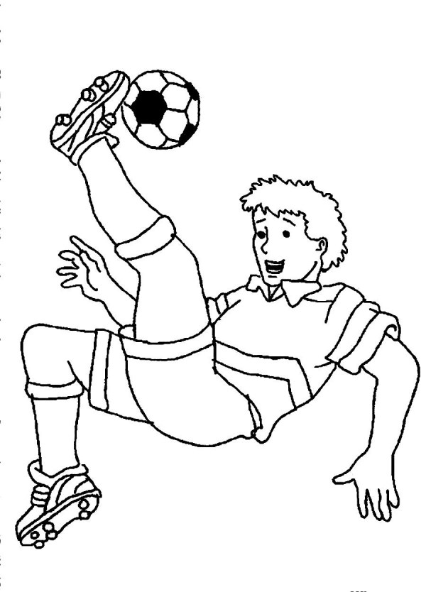 soccer coloring page # 5