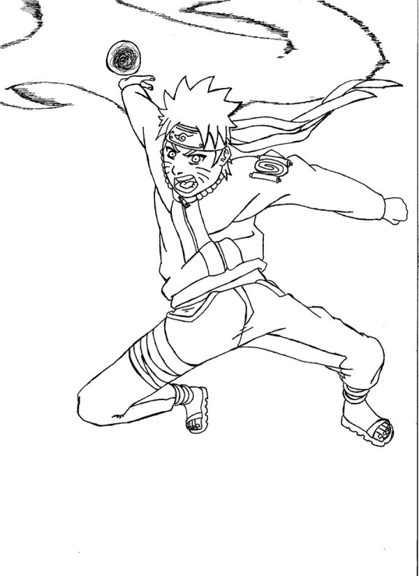 naruto shippuden coloring pages # 3