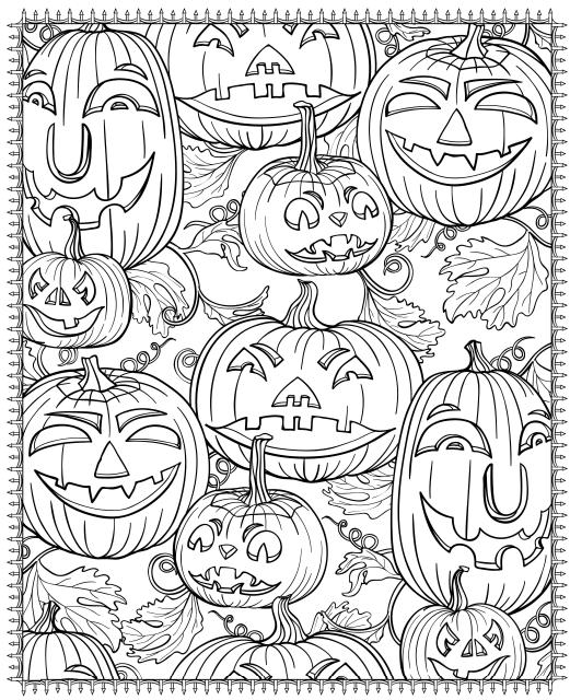 free halloween printable coloring pages # 6