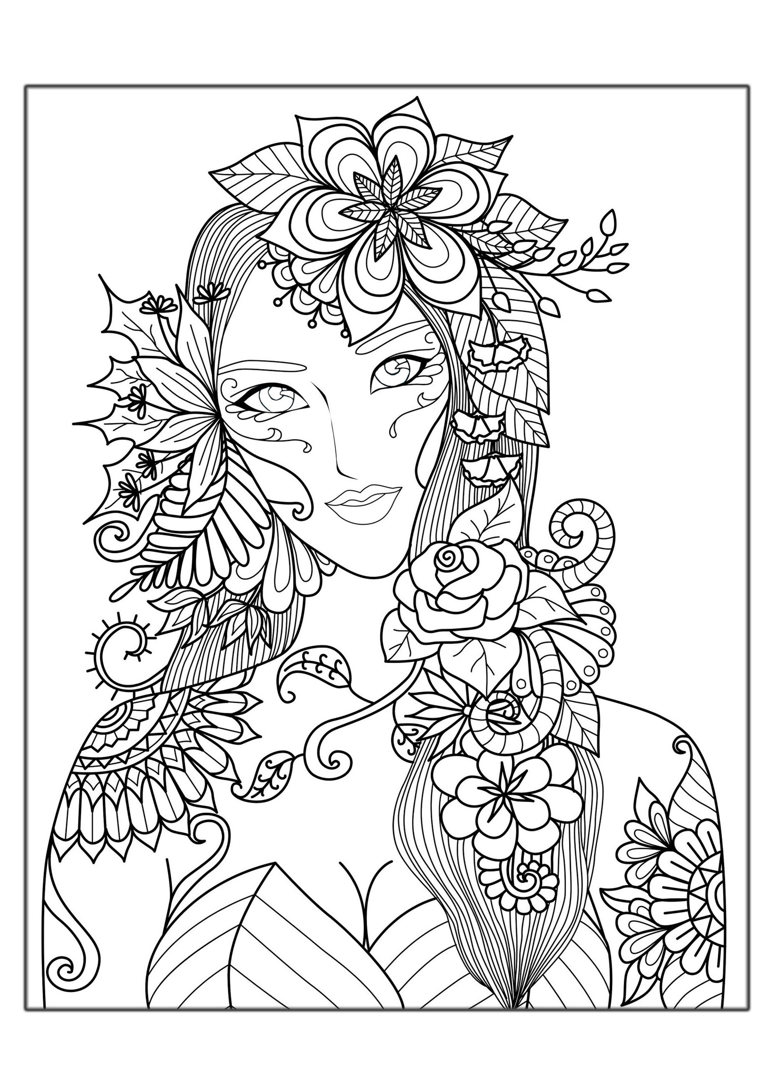 Hard Coloring Pages For Adults Best Coloring Pages For Kids