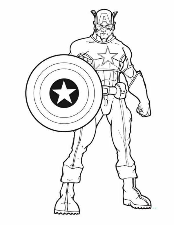 coloring pages avengers # 69