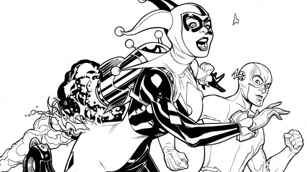 dc comics coloring pages # 89