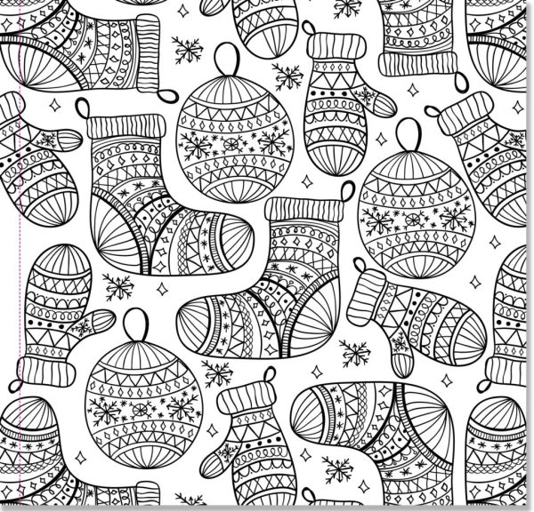 adult christmas coloring pages # 30