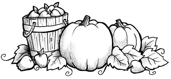 fall coloring pages # 7