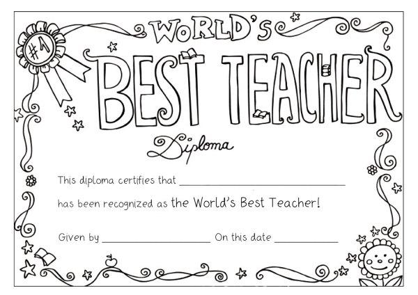 teacher appreciation coloring pages # 11