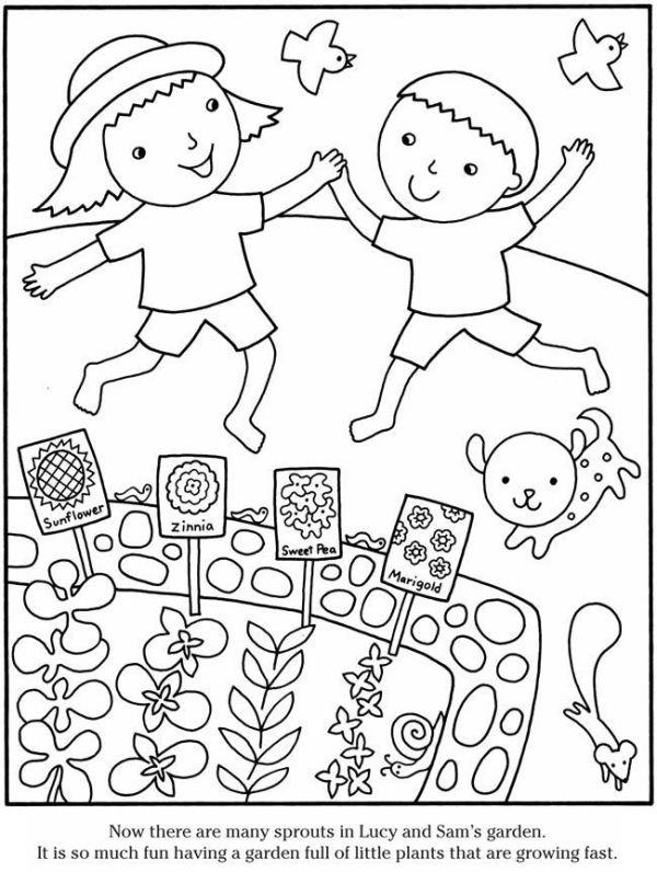 garden coloring page # 29