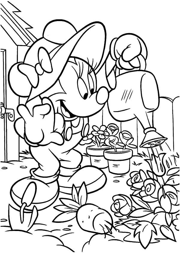 garden coloring page # 35