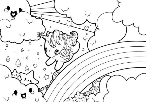 coloring pages cute animals # 10