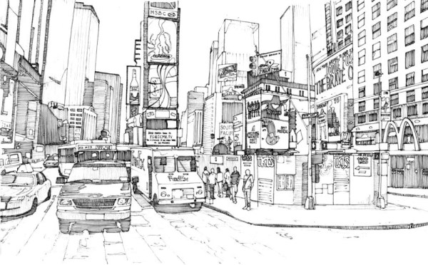 city coloring pages # 4