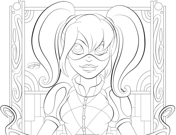 dc coloring pages # 18