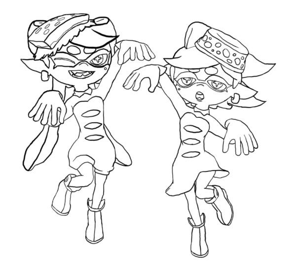 squid coloring # 48