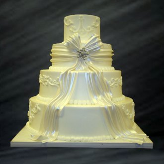 Simply Elegant Wedding Cakes   Best of Cake Simply Elegant Wedding Cakes
