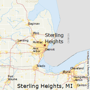 Best Places To Live In Sterling Heights Michigan