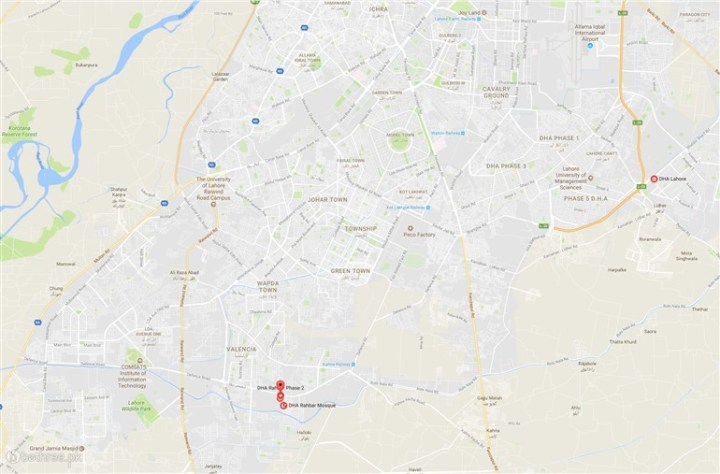 210 Maps   Plots for sale in Lahore   Bethree 5 Marla Plot for sale in DHA Rehbar Phase 2 Plot No 210