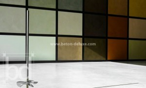 Betonlook showroom