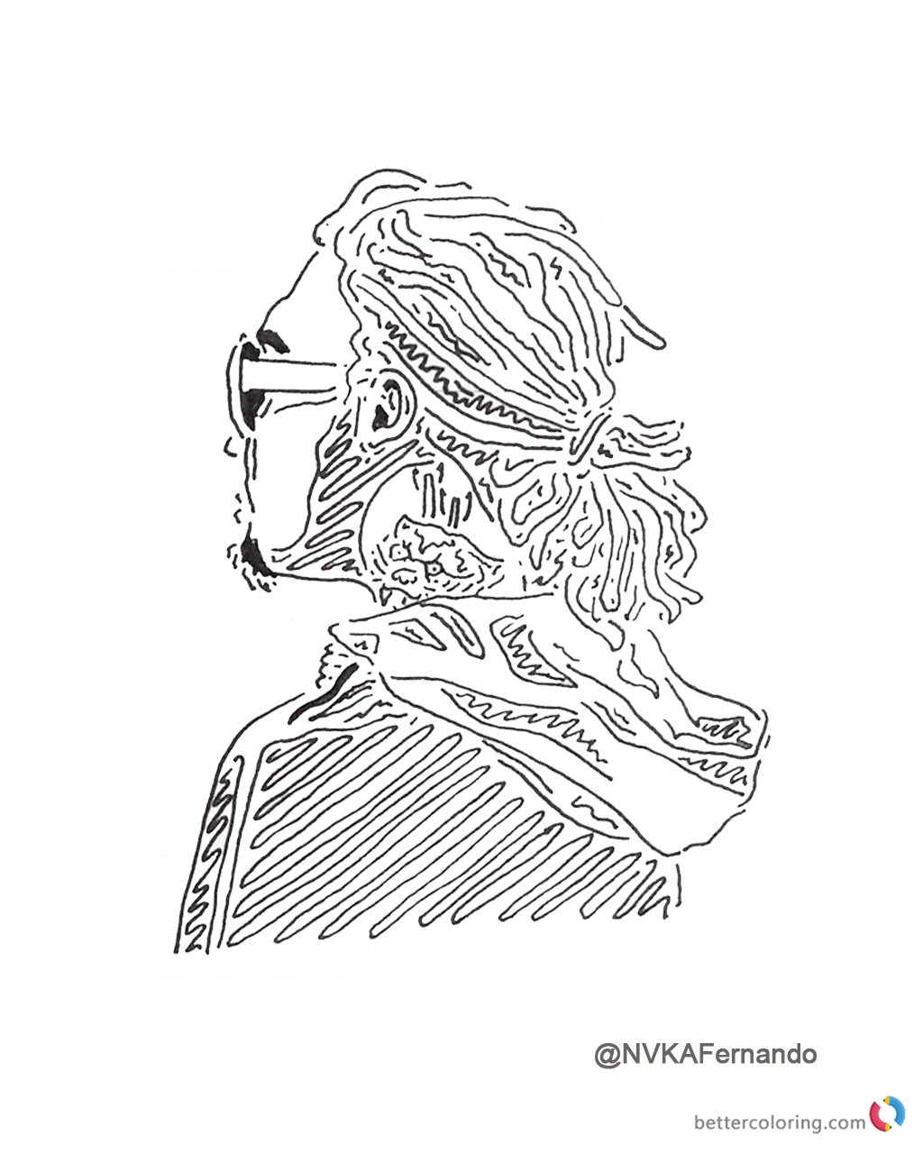 Lil pump coloring pages fan drawing free printable coloring pages lil pump coloring pages fan art