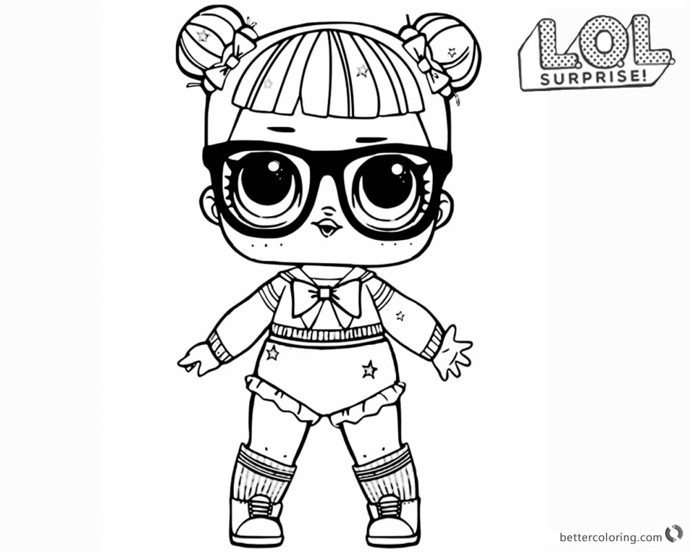 Lol Surprise Doll Coloring Pages Bunny Hun Coloring