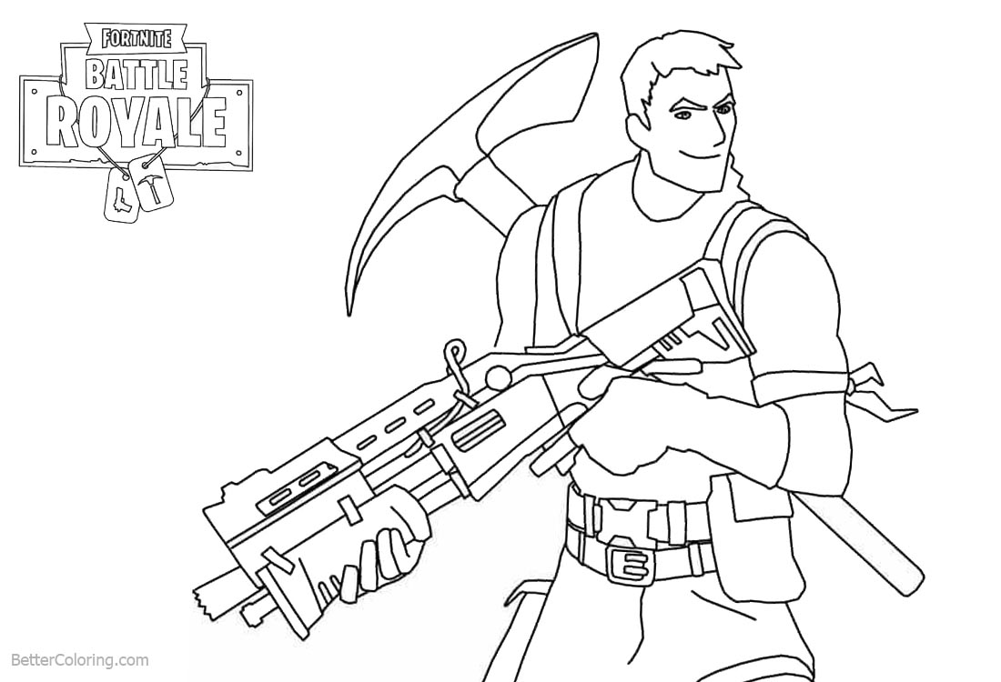 photo about Printable Fortnite Coloring Pages referred to as New Fortnite Coloring Webpages Beef Manager Colouring