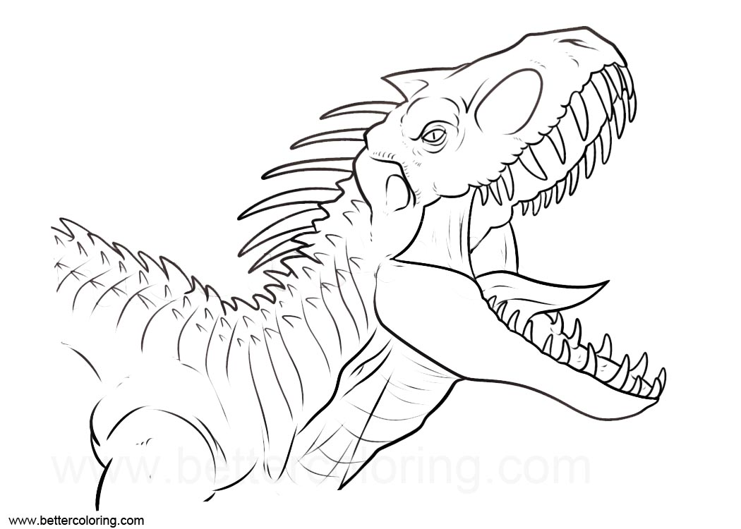 lego t rex printable coloring page