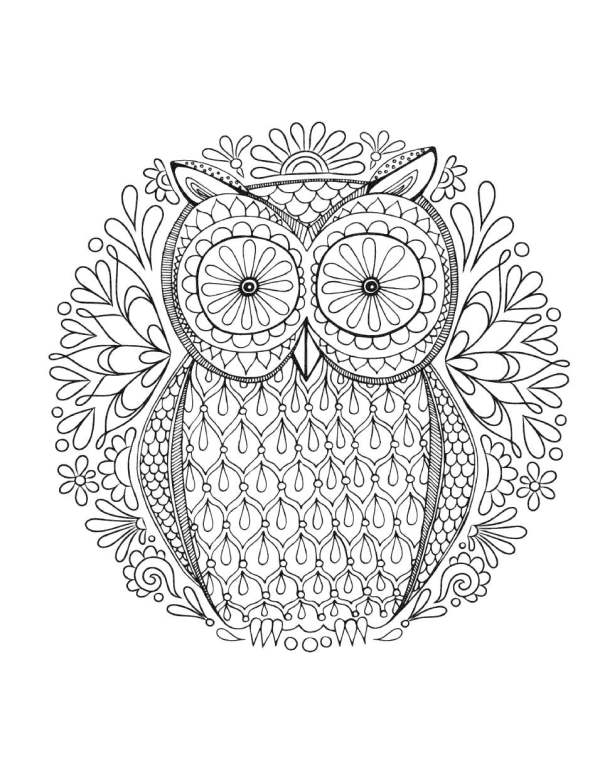 relaxing coloring pages # 47