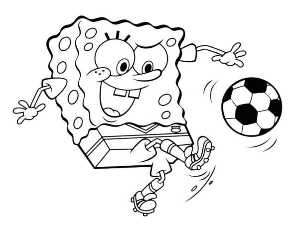 squidward coloring pages # 30