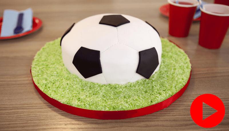 How To Make A Football Cake Easy Cake Recipes Betty