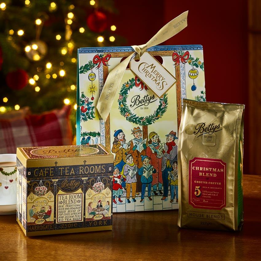 Tea & Coffee Christmas Gift Bag | Bettys