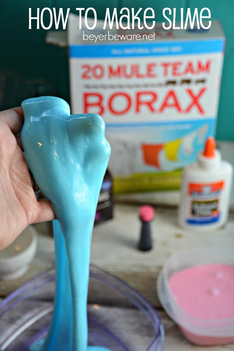 How to Make Slime - Beyer Beware